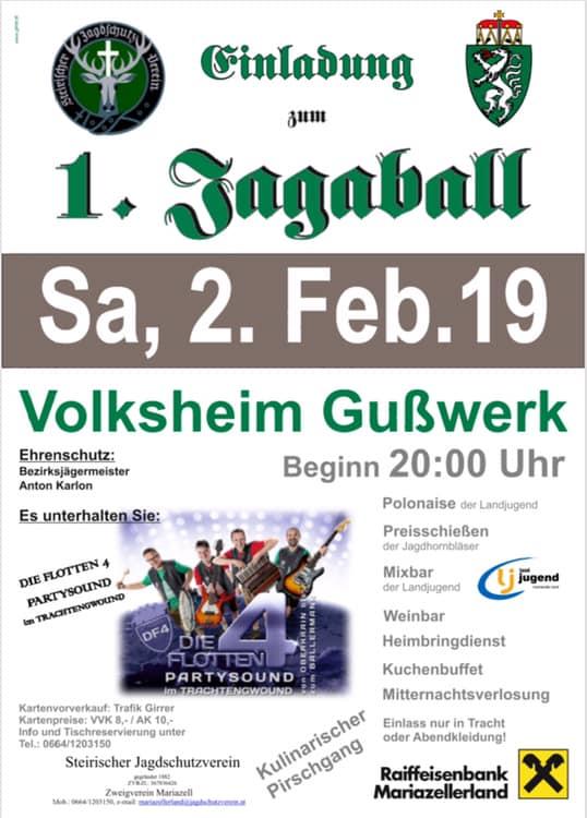 Jägerball mit LJ Mariazell