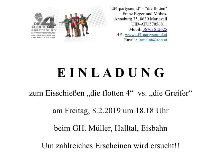 Eisschießen vs.Greifer,GH. Müller